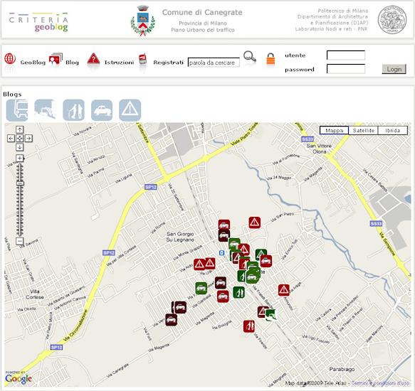 Piano Urbano del Traffico del Comune di Canegrate (MI)