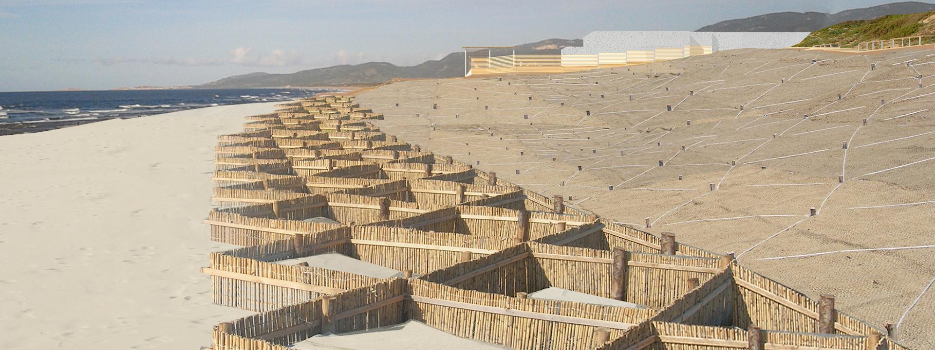 Progetto di ripristino ambientale del sistema di spiaggia in località San Pietro a mare